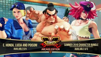 Анонсированы 3 новых персонажа для Street Fighter V:Arcade Edition