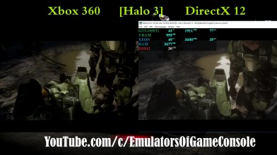 Работа Halo 3 на эмуляторе Xenia
