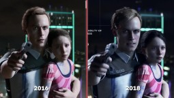 Detroit: Become Human - Сравнение E3 2016 vs. 2018 Demo (IGN)
