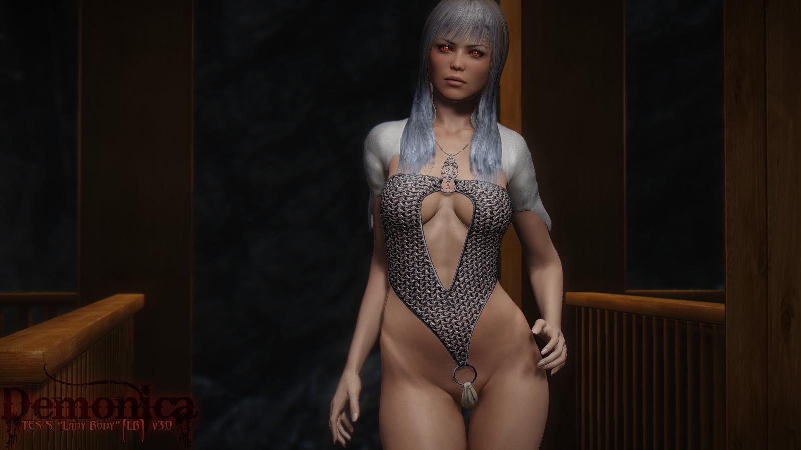 Набор сексуальной брони и одежды в скайриме