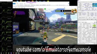 CEMU 1.7.4d Wii U Emulator - Splatoon (2015). Ingame 4K. Test #19