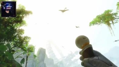 Планета юрского периода!  Robinson: The Journey + RIG 4 VR [BlackSilverUFA]