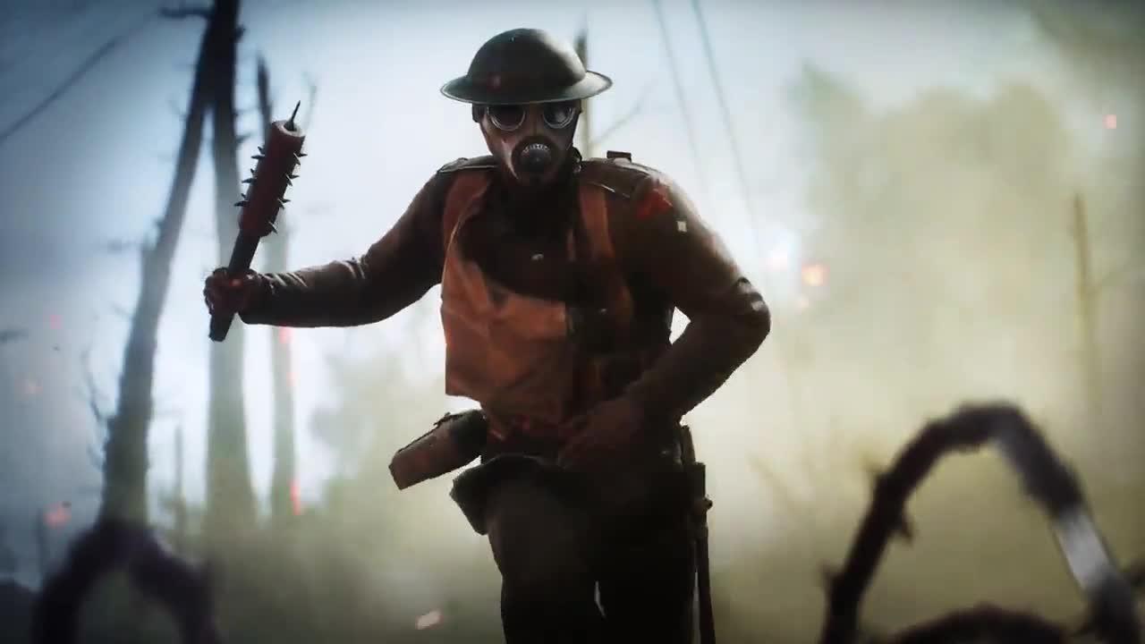 Battlefield 1 оружие
