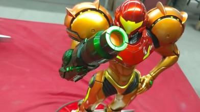 Обзора премиум статуи Metroid Prime 2 Varia Suit
