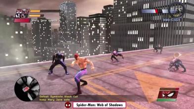 Эволюция поврежденного костюма из серии игр про паука