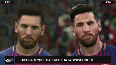 PES 2018 - Сравнение PS3 vs. PS4 Demo (Candyland)