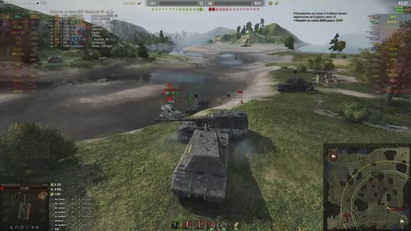 World of Tanks Мышку понерфят- Maus донагибался