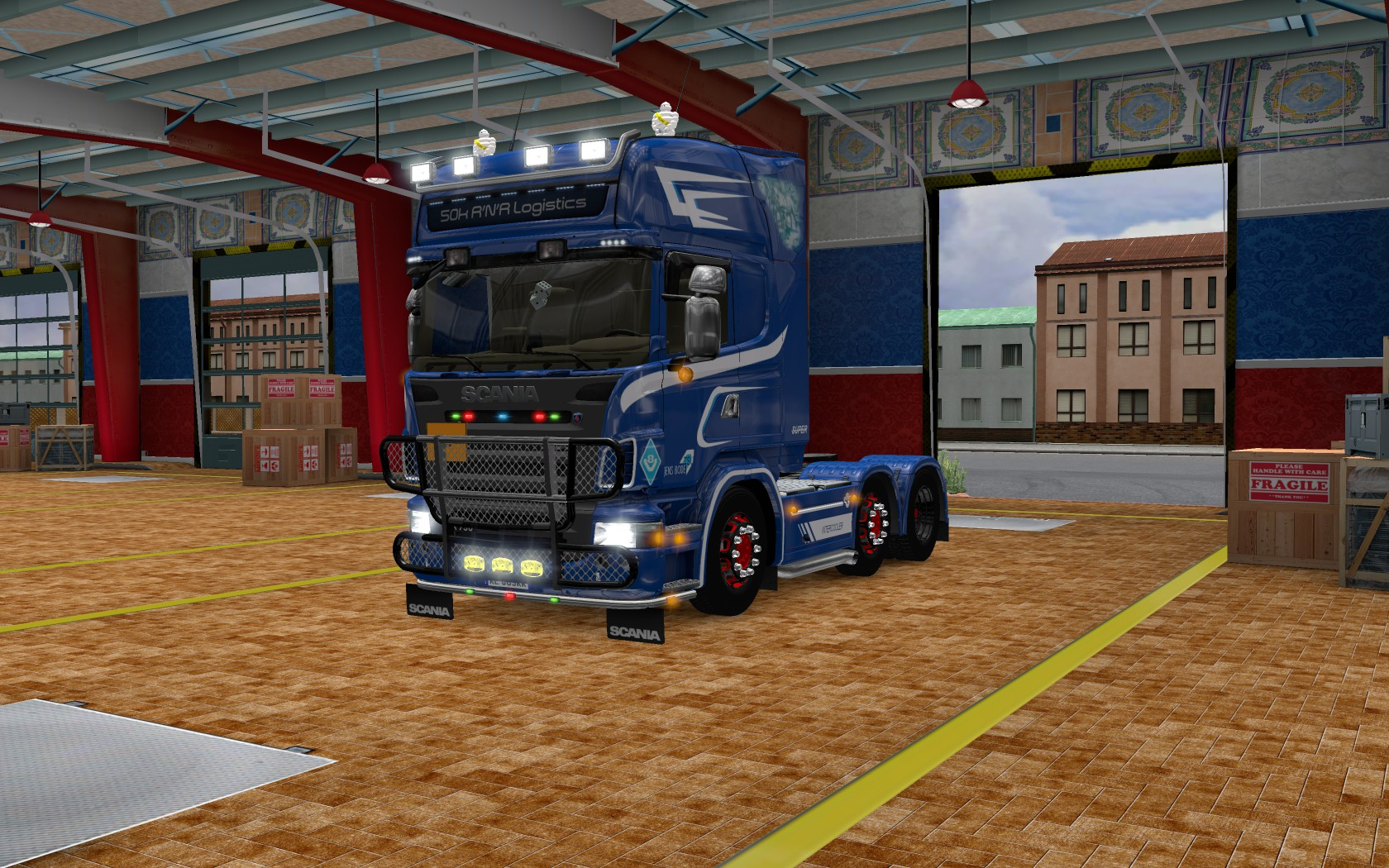 Патч Для Euro Truck Simulator 2008