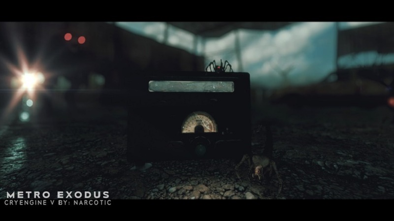 Metro Exodus воссоздали на CryEngine 5