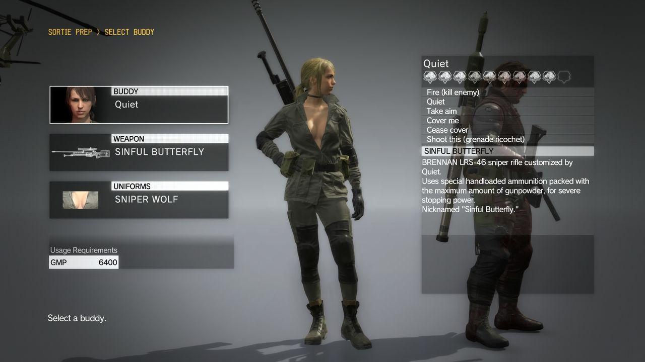 В MGS 5: The Phantom Pain будет костюм Sniper Wolf - Блоги - блоги ...