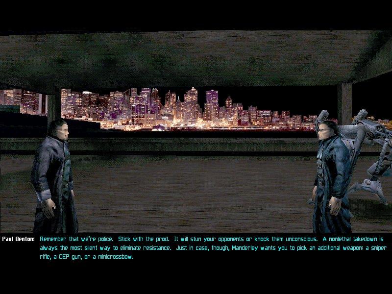 скачать игру Deus Ex 1 через торрент - фото 9