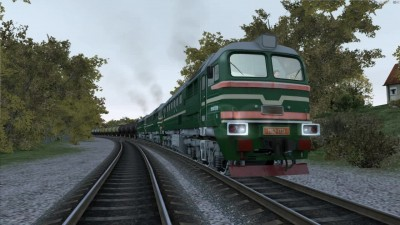 Train Simulator 2016 M62-1731 Бензовоз