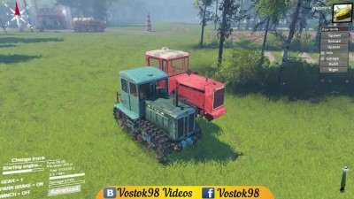 Spintires Full Version - Т-74 и ДТ-75