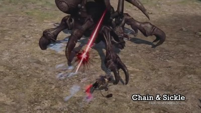 TOUKIDEN 2: WEAPON TYPE - CHAIN & SICKLE!