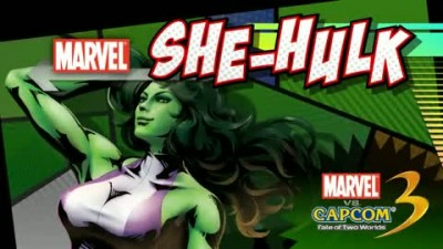 "Marvel vs Capcom 3 ""She-Hulk gameplay trailer"""