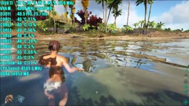 ARK Survival Evolved GTX 1050 Ti OC - 1080p - 900p - 720p - EPIC,HIGH,MEDIUM,LOW