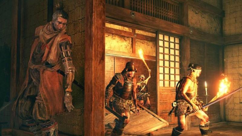 Фанатам Metal Gear Solid на заметку: ниндзя умеет прижиматься к стенам!