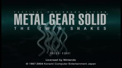 За гранью зримого Metal Gear Solid: The Twin Snakes...