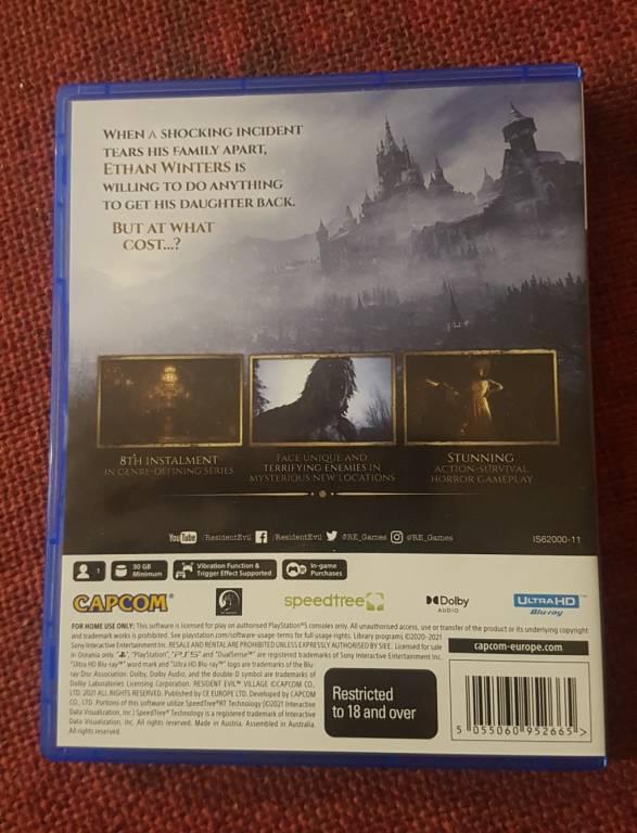 Счастливчики уже получили на руки дисковые версии Resident Evil 8