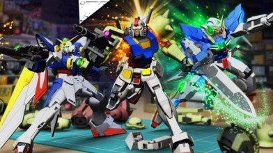 Релизный трейлер игры-конструктора New Gundam Breaker для PlayStation 4