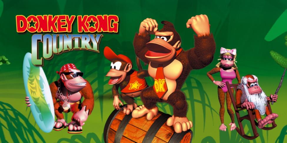 Donkey Kong Country присоединяется к Nintendo Switch Online