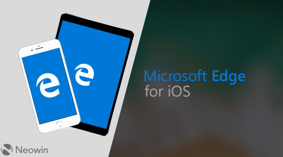 Браузер Microsoft Edge доступен для iOS и андроид