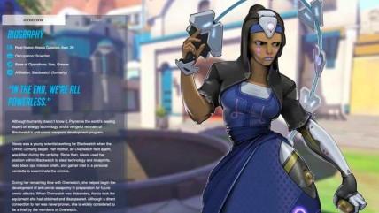 Утечка информации о новом персонаже Overwatch