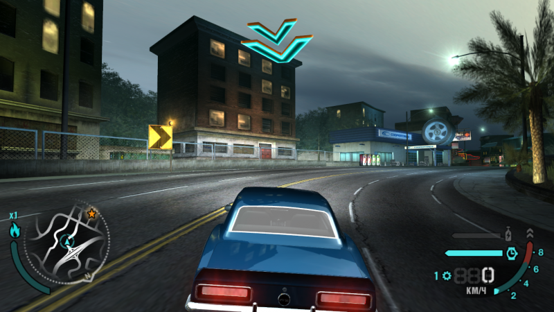 Need for speed carbon neon mod