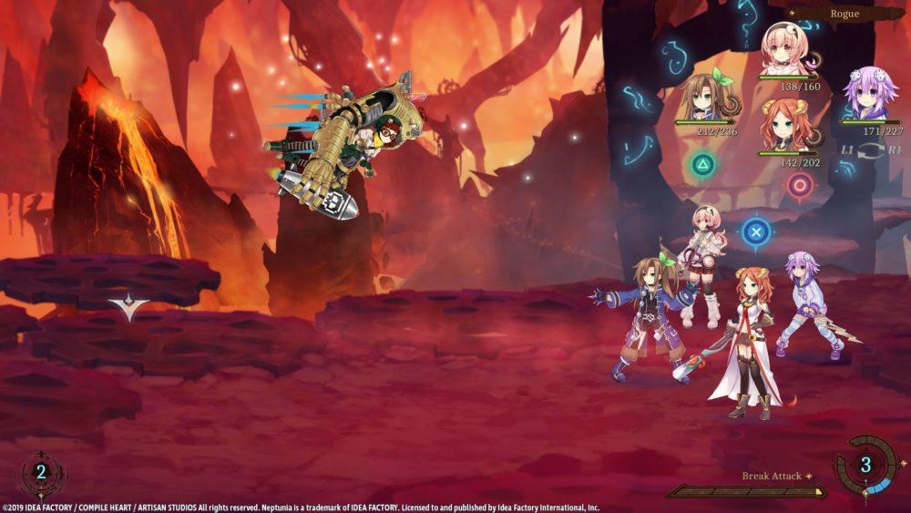 Скриншоты Super Neptunia RPG