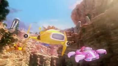 "Sonic & SEGA All-Stars Racing Transformed ""Трейлер"""