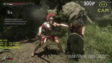 Ryse Son of Rome - GTX 1050 ti - i3 6100 - 1080p - 900p - 720p - 1440p