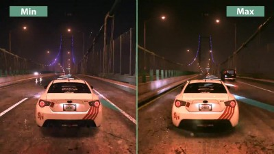 "Need for Speed ""Сравнение графики PC Min vs. Max"""