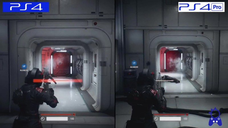 Сравнение графики - Star Wars: Battlefront 2 PS4 Pro vs PS4 (ElAnalistaDeBits)