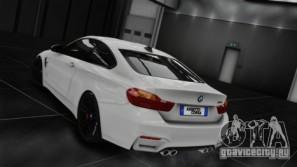 BMW M4 F82 2015 для GTA 4 вид сзади слева