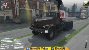 Spintires Full Version - КрАЗ 258