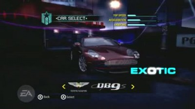 Need for Speed Carbon - Customization