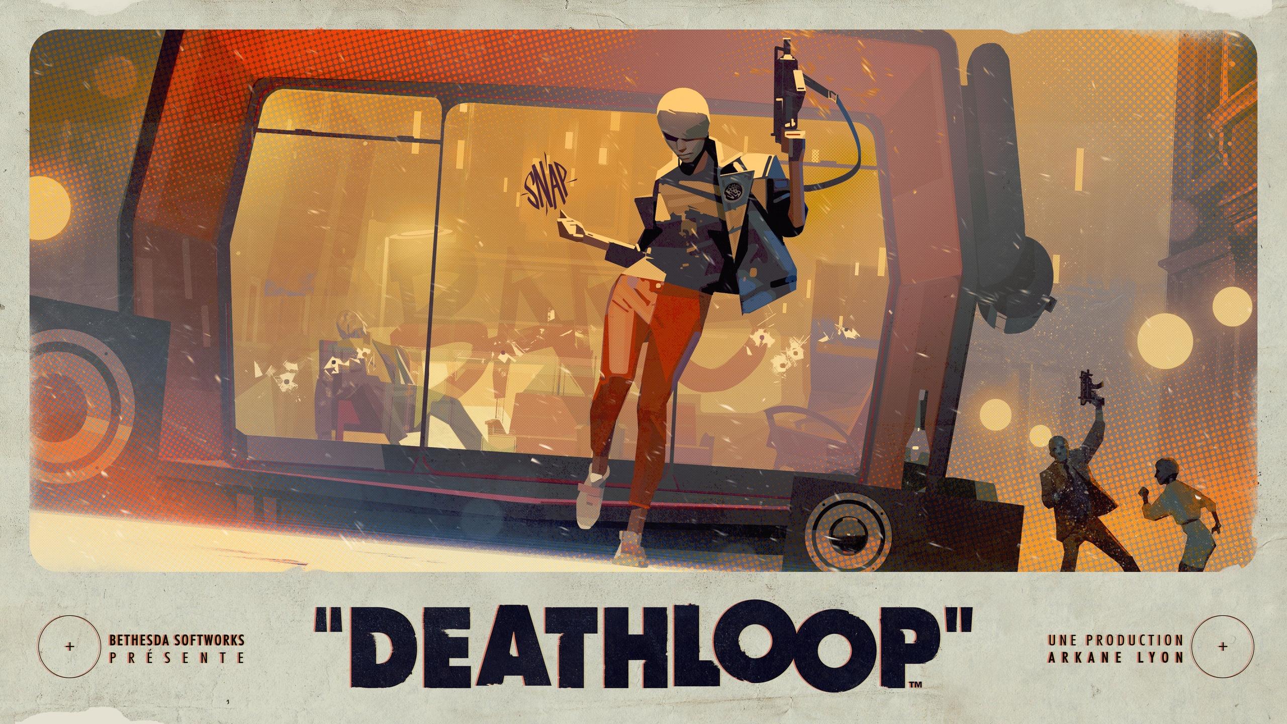 Deathloop - Концепт-арты новой игры от Arkane
