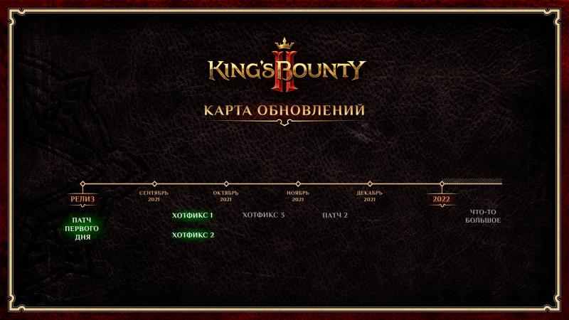 Для King's Bounty 2 вышло второе обновление