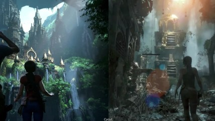 Сравнение Uncharted The Lost Legacy vs Rise of the Tomb Rider - PS4