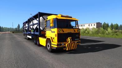 Euro Truck Simulator 2 - Обзор Sisu M-series v1.2 Для 1.35