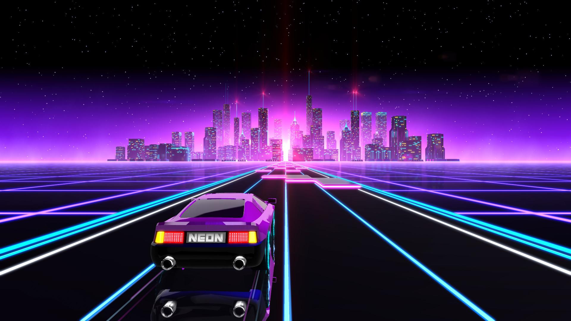 Neon Drive получила рекордную скидку в 85% - купить игру можно всего за 37 рублей