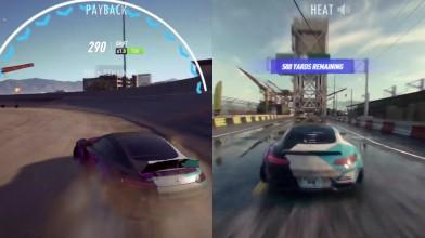 Сравнение графики Need for Speed Heat, Payback и игры 2015 года