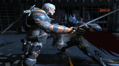 Аркхэм Ориджин - Knightfall vs Deathstroke