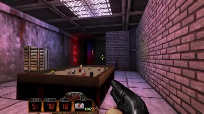 "Duke Nukem 3D: 20th Anniversary World Tour ""Геймплей - Pig Shootout!"""