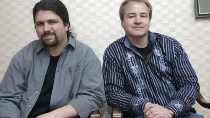 Слева направо: Джейсон Уэст и Винс Зампелла, основатели Infinity Ward и создатели Call of Duty