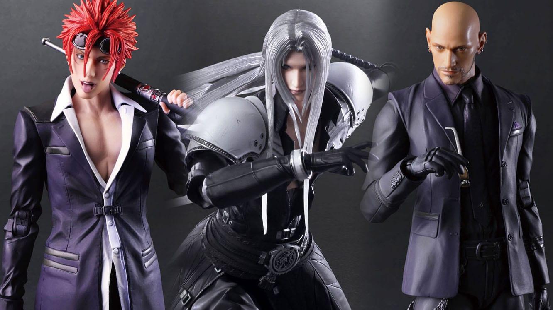 Square Enix открыла предзаказы на фигурки Сефирота, Рено и Руда из Final Fantasy VII Remake