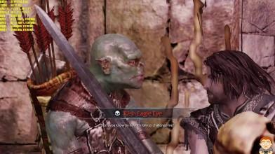 Middle Earth Shadow Of Mordor 16K Resolution GTX 1080 TI SLI FPS Тест производительности