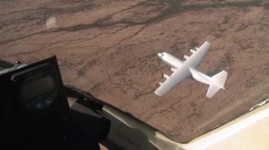 Форсаж 7. Как снимали сцену с самолётом C-130 Drop