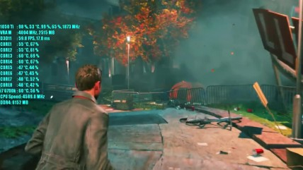 Тест производительности Quantum Break GTX 1050 Ti OC - 1080p Ultra & Medium Settings