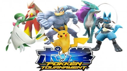 Pokken Tournament вышел на японских аркадных автоматах